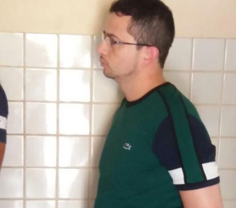 Foto do empresário tirada no dia da prisão em Belém, no último sábado, 4