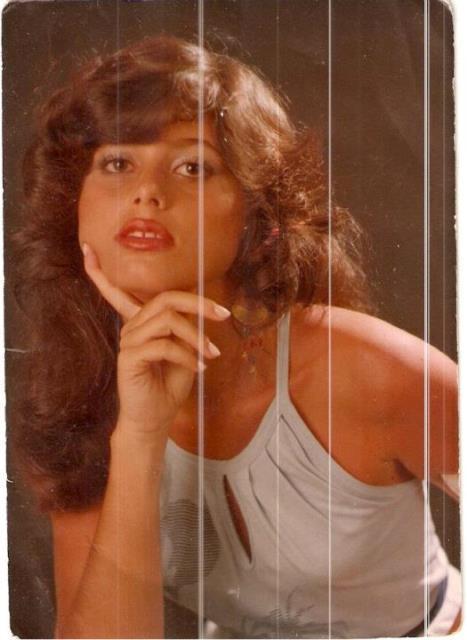 Fátima Diniz: beleza e ciúme. Foto: arquivo familiar