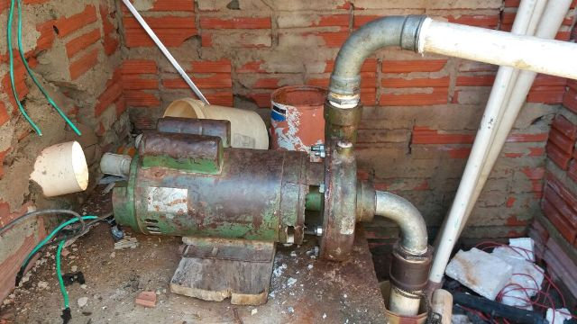 Bomba d'água apresenta problemas constantemente