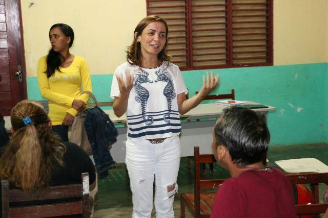 Deputada Marcivânia Flexa: