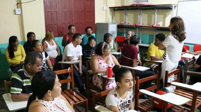 moradores santana centro comunitário Marcivânia 3