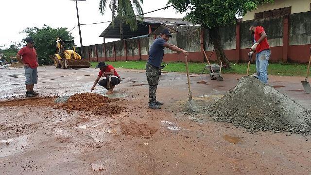 Equipes intensificam trabalhos no trecho urbano da BR-156