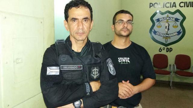 Delegados Celso Pacheco e Leonardo Brito comandaram as prisão