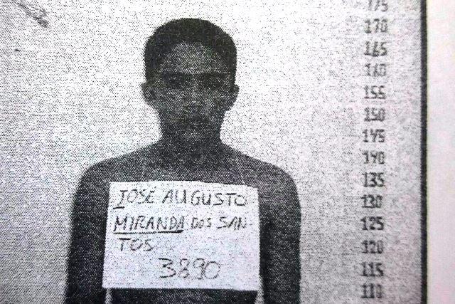 José Augusto dos Santos, líder da quadrilhava, comandava tudo do Iapen. Foto: arquivo policial