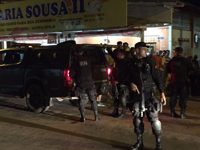 Responsáveis pela morte da moça foram presos pelo Bope na mesma noite. Foto: Olho de Boto