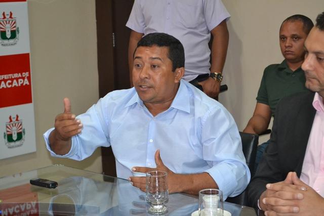 Prefeito de Mazagão Dudão Costa: interesse em entrar no consórcio