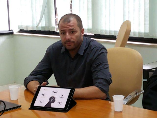 presidente nacional da Tellusmater, Alexandre Tereso: mapeamento da cidade será feito