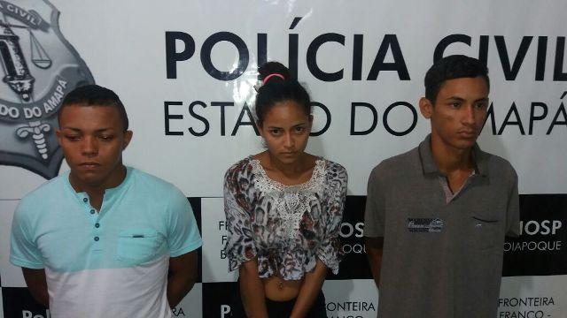 Homem e mulher que abrigavam o fugitivo também foram presos. Fotos: Humberto Baía