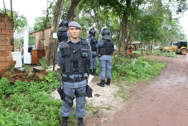 Capitão Obede Batista: ocupantes não obedeceram prazo dado para sair do local