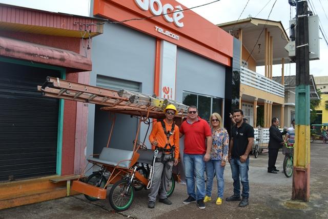 Loja inaugurada em Afuá no dia 17 de fevereiro