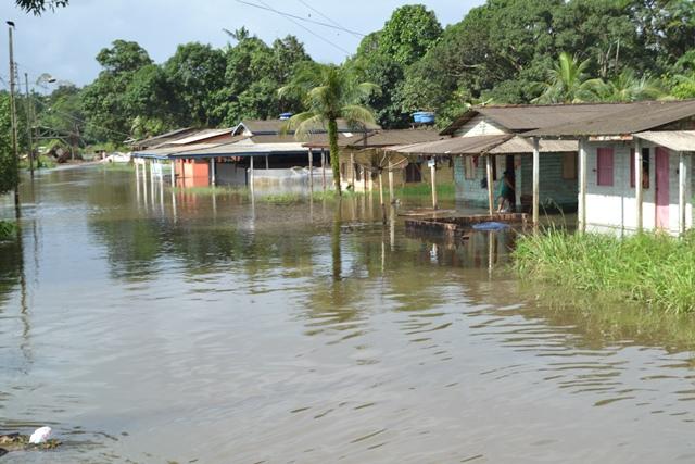Bairro Beira-Rio é um dos mais atingidos