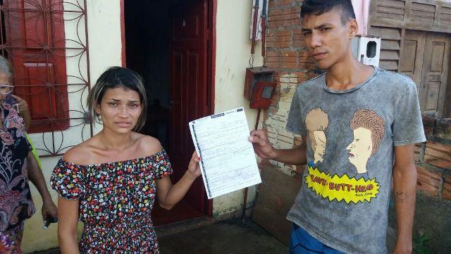Pais de Clara Vitória passaram 6 dias sem conseguir internar a filha. Foto: André Silva