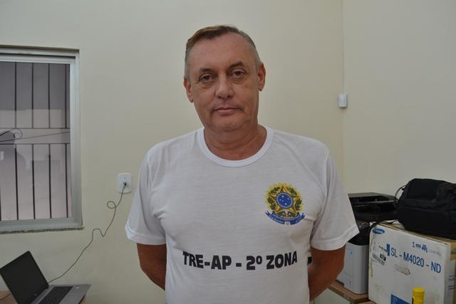 Juiz Adão Carvalho está auxiliando na eleição em Calçoene