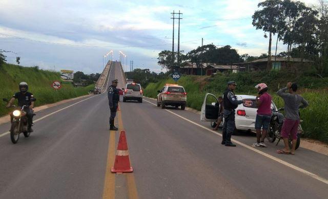 Fiscalização na rodovia para Mazagão foi intensificada