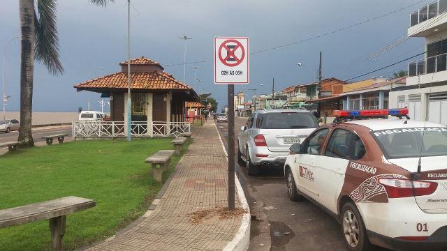 Proibido estacionar a partir das 2h