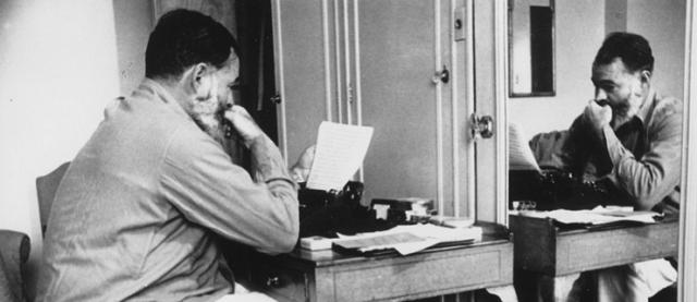 Hengway foi vencedor do Nobel de Literatura em 1954. Foto: Mundo dos Livros