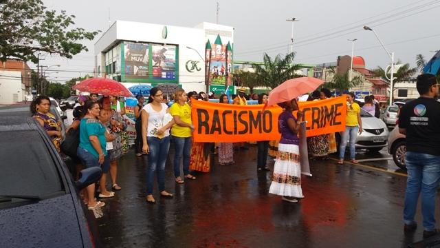 Movimento feminista pede respeito, igualdade e mais direitos. Fotos: André Silva