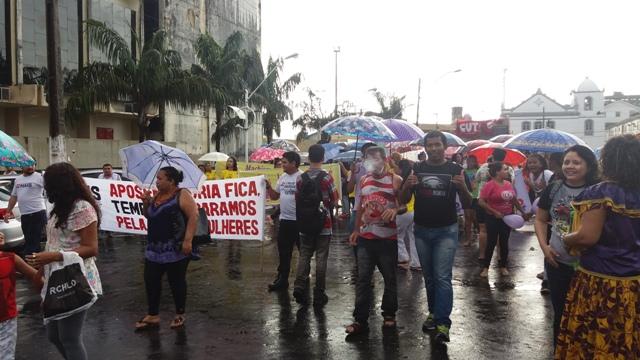 Marcha percorreu ruas do centro