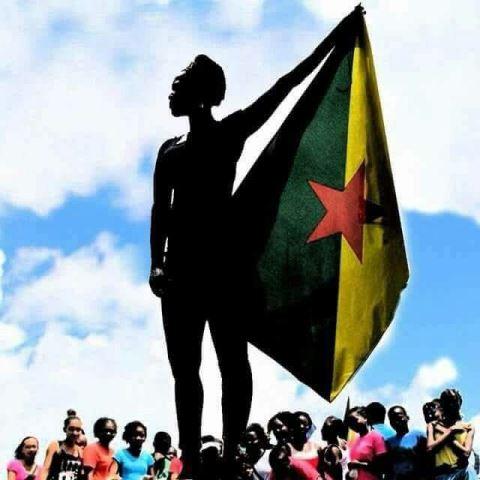 Foto que virou um dos símbolos da revolta