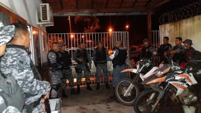 Esta semana, agentes receberam segurança da PM na saída do plantão