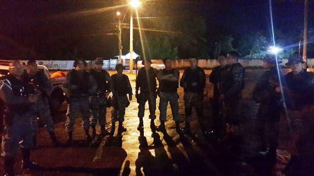 Mobilização de policiais e GTP começou às 4h