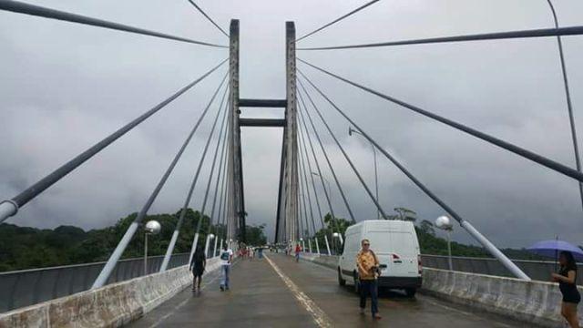 Funcionamento parcial da ponte é marco histórico