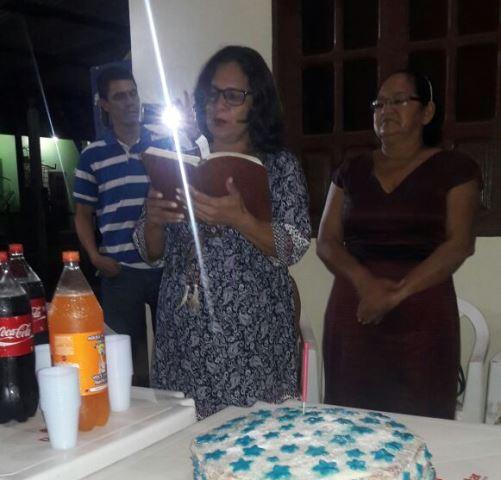 Família evangélica agradece a Deus pelo retorno de Juaci Viana