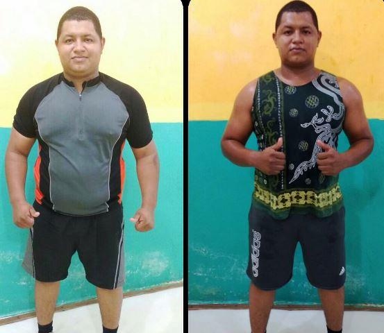 Leandro Sales: menos 16 quilos com mudança de atitude