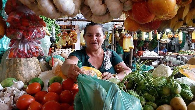 Madalena Silva, 55 anos feirante.