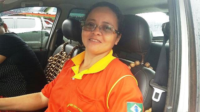 Jose dos Santos. 38 anos taxista