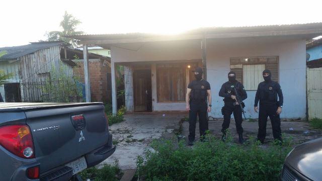 Ao todo, 35 policiais cumpriram mandados em Macapá. Foto: PF/Divulgação
