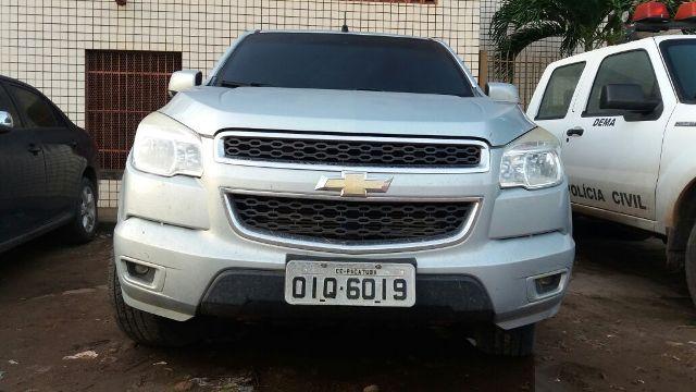 S10 havia sido roubada em novembro do ano passado em Fortaleza-CE