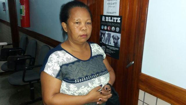Francisca Gonçalves, dona de Meg: crueldade. Fotos: Olho de Boto