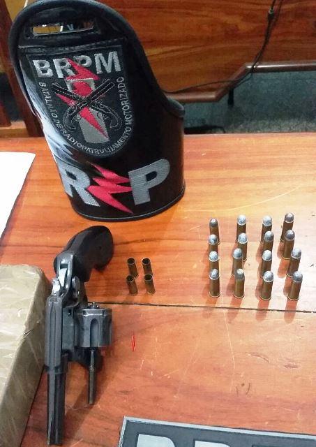 Quatro munições foram deflagradas