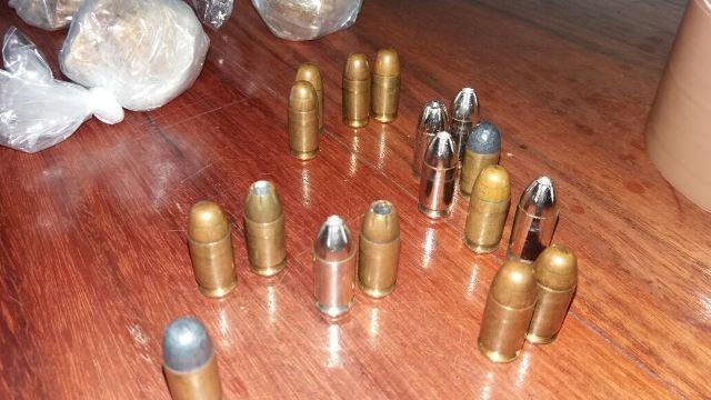 ...e bastante munição