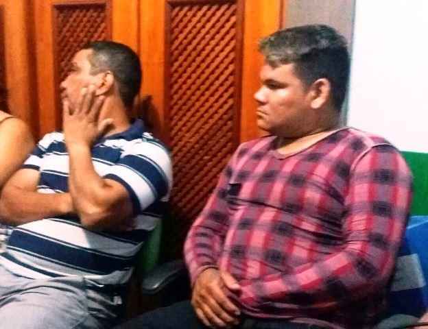 Santana Beleza, de 45 anos, e Bad Boy, de 26, foram autuados em flagrante. Fotos: Leonardo Melo