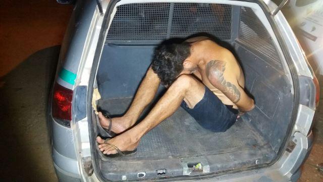 Carlos Aviz já responde por outro furto. Fotos: Olho de Boto