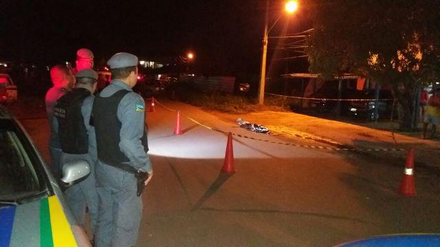 Vitima foi arrastada pelos matadores por 15 metros...
