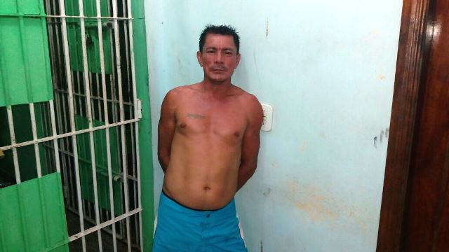 Valdelício Chagas foi autuado por homicídio qualificado. Fotos: Olho de Boto