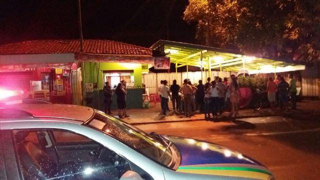 Crime ocorreu na principal avenida do Centro Comercial de Santana