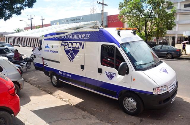 Técnicos do Procon cumprirão cronograma na unidade móvel em todo o estado a partir de abril. Fotos: Maksuel Martins (Secom/divulgação)