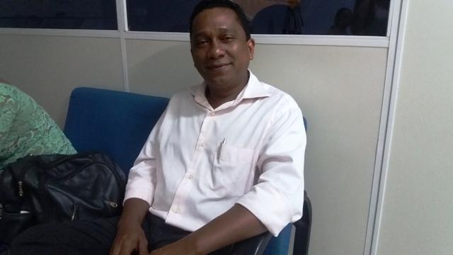 Presidente do Sinsepeap, Aroldo Rabelo. Foto: André Silva