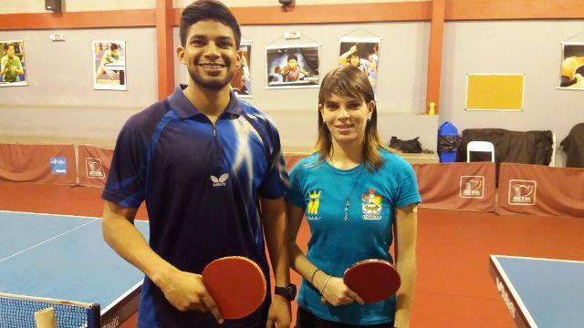 Daniel e Katisa, atletas premiados em importantes competições