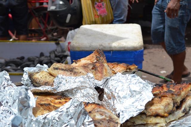 Peixe frito para os dias de Semana Santa