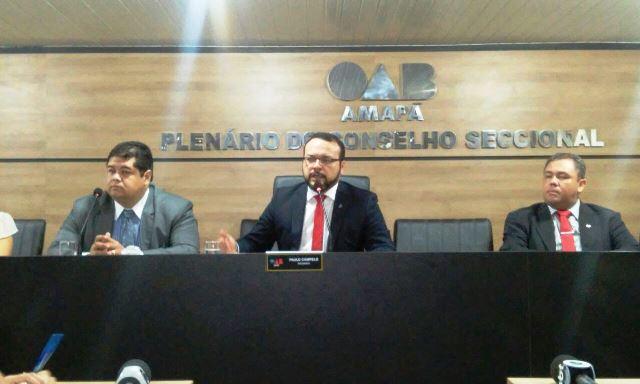 Presidente da OAB-AP, Paulo Campelo: Caso