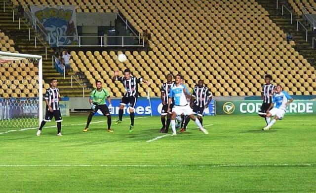 Primeiro duelo entre as duas equipes acabou em um a um. Fotos: ascom Paysandu