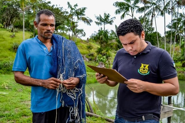 Pescado foi inspecionado para produto chegar com qualidade nas feiras