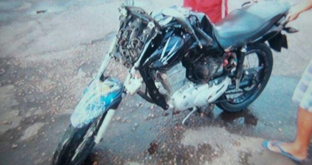 Motociclista morreu no HE