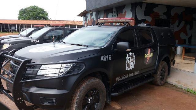 Policiais conseguiram identificar o carro usado no transporte dos utensílios da igreja