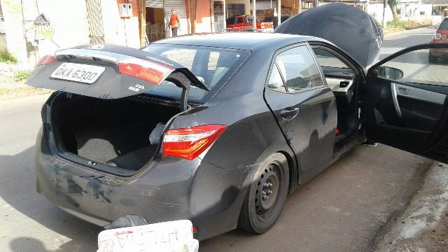 Polícia já monitorava veículo suspeito. Fotos: Olho de Boto